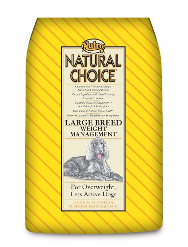 Natural Choice Dog Large Breed Weight Management Dog Food, 30-Pound
