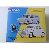 Corgi Classics Classic Police Stockport Borough Police Set Morris Minor & Mini Van Diecast Vehicles 1:43 Scale...