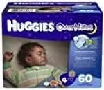 Huggies OverNites Diapers, Size 4, Bi...