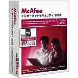 【アウトレット特別価格】インターネットセキュリティ 2009 3ユーザー microSD版 1,980円