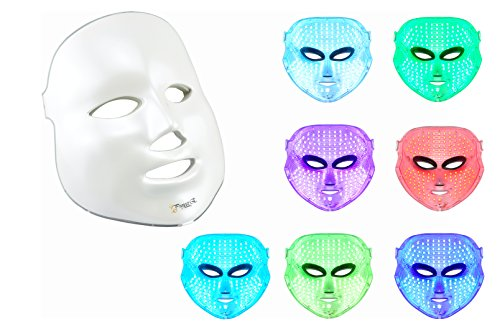 Project E Beauty LED Photon Therapy 7 Color Light Treatment Skin Rejuvenation Whitening Facial Beauty Daily Skin Care Mask (Skincare Equipment Packages compare prices)