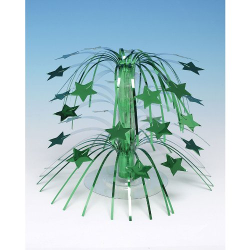 Green Star Mini Cascade Centerpiece - 1