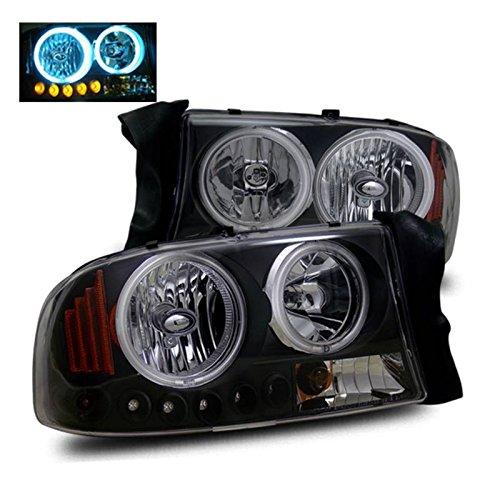 03-06 SCION XB HALO BLACK PROJECTOR HEAD LIGHTS+YELLOW BUMPER FOG+10K HID KIT