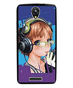 Techno Gadgets Back Cover for Gionee CTRL V5
