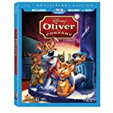 Sword in the Stone, Robin Hood, Oliver and Company Blu-ray