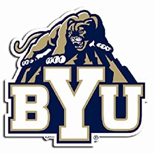 Buy NCAA Brigham Young Cougars Car Magnet Sm by Game Day Outfitters