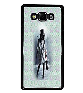 PrintDhaba Violin Girl D-3010 Back Case Cover for SAMSUNG GALAXY A8 (Multi-Coloured)