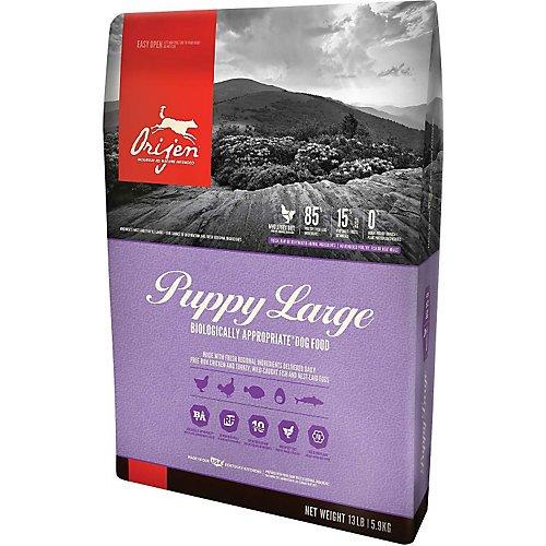 Orijen Large Puppy Formula Dog Food, 13 lb (Orijen Puppy Food compare prices)