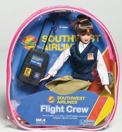 flight-attendant-doll-southwest-airlines-swa-11-brunette-backpack-accessories