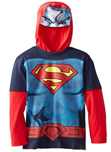 Superman Man of Steel Toddler Youth Costume Hoodie Hoodie