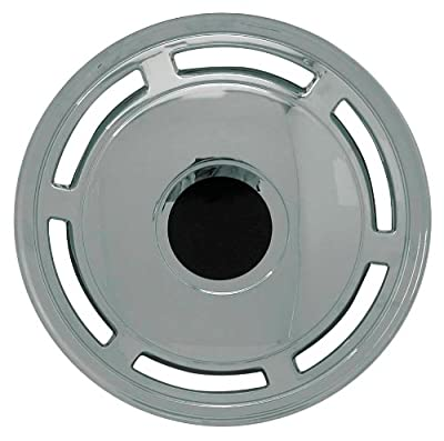 CCI IWC202-15C 15 Inch Clip On Chrome Finish Hubcaps - Pack of 4