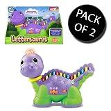 2x LeapFrog 19174 Lettersaurus Dinosaur Learning Toy