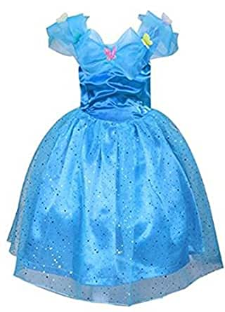 Rush Dance Butterfly Cindy Cinderella Costume Princess Costume Sparkling Dress