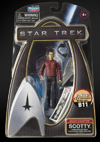 Star Trek Movie Playmates 3 3/4 Inch Action Figure Scotty (Enterprise Uniform)