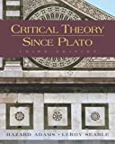 Critical Theory Since Plato by Adams, Hazard, Searle, Leroy (2004) Hardcover