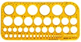 Aristo AR5033 Kreisschablone  transparent gelb