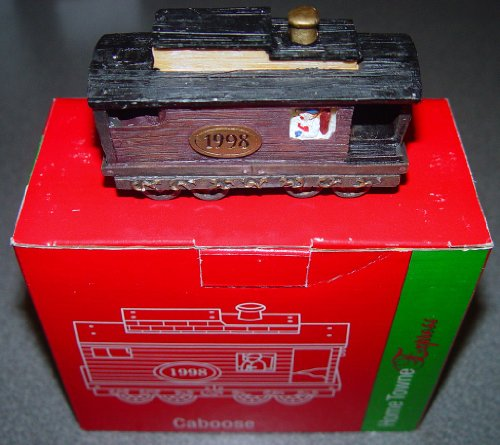 Home Towne Express 1998 Edition Caboose - 1