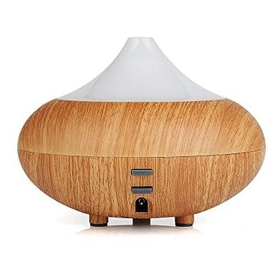 140ml Aroma Diffuser LED Luftbefeuchter Ultraschall Duftzerstäuber Humidifier Essential Oil Diffusor Purifier Tragbar für Babies Kinder Haus Yoga Büro by CASCACAVELLE