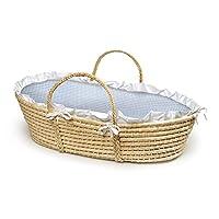 Badger Basket Company Natural Baby Moses Basket
