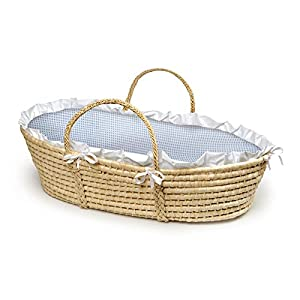 Badger Basket Company Natural Baby Moses Basket