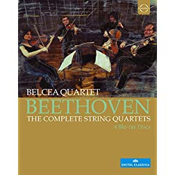 Beethoven: The Complete String Quartets Quartets [Blu-ray]