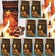 10 x 100 (insgesamt also 1000 St�ck) nat�rlicher Ofenanz�nder aus Holzfaser # Grillanz�nder Kaminanz�nder Feueranz�nder Anz�ndw�rfel Anz�ndhilfe Holzanz�nder