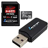 Zectron Tablet UHS-1 32GB Micro Class 10 Memory Card for ViewSonic View Sonic ViewPad View Pad 7 Tablet+ Free Micro USB-2 card reader