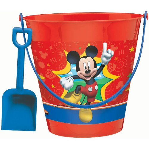 mickey mouse pail with shovel - 1