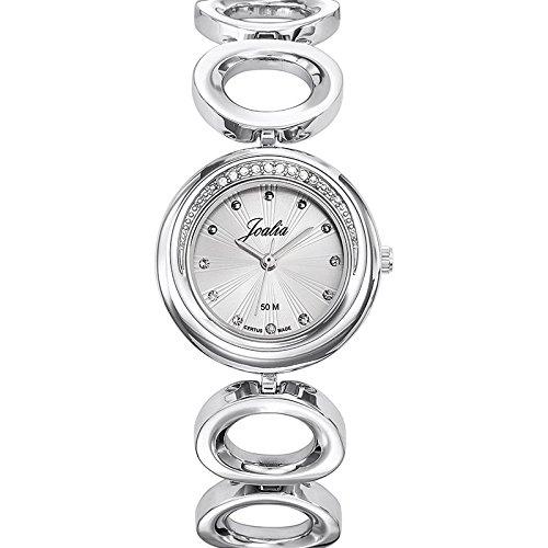 Joalia-633341-Orologio da donna con cinturino in metallo con quadrante, colore: argento