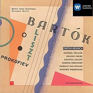 Martha Argerich ~ Bartok - Contrasts · Prokofiev - Quintet Op.39 · Liszt - Concerto Pathétique