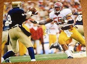 Junior JR Seau Signed USC Trojans 16x20 Photo COA Auto Autograph Charger - PSA DNA... by Sports+Memorabilia