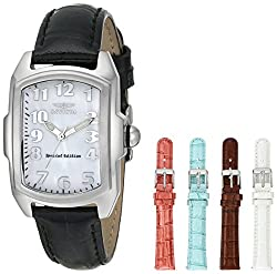 Invicta Lupah Analog Mother of Pearl Dial Womens Watch - 5168