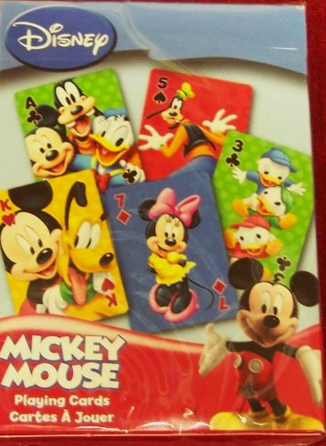 Disney MICKEY MOUSE Playing Cards: Bicycle Brand.... - 1