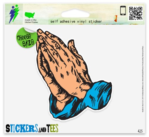 Christian Prayer Jesus Vinyl Car Bumper Window Sticker 3