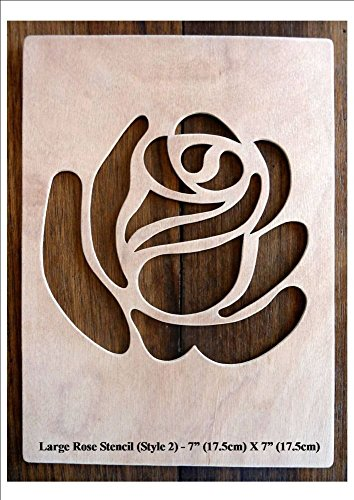 beautiful-large-sized-hand-crafted-mdf-decorative-rose-design-drawing-template-stencil-style-2-size-