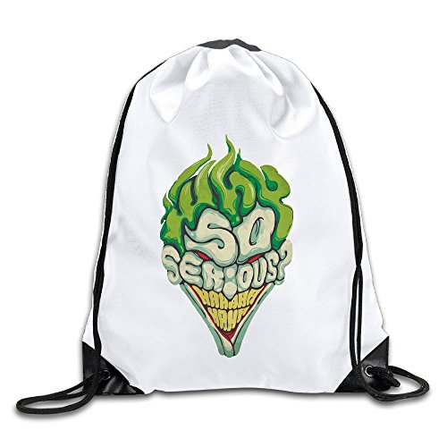 BestSeller Joker Why So Serious Drawstring Backpacks/Bags