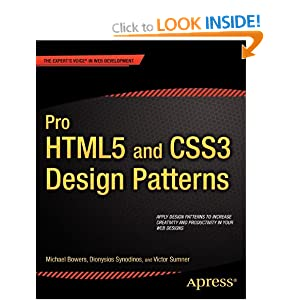 Pro HTML5 and CSS3 Design Patterns (Professional Apress)