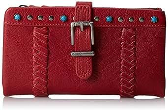 The SAK Silverlake Soft Wallet Bifold, Cherry Turquoise, One Size