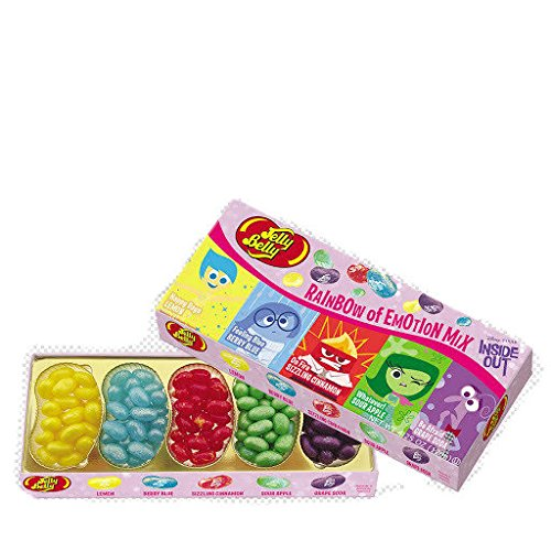 Disney Inside Out Rainbow of Emotion Jelly Belly Mix- 4.25 oz Gift Box (Rainbow Jelly compare prices)