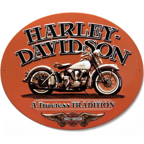 #2010781 Ande Rooney Harley Davidson Timeless Tradition Metal Sign 0