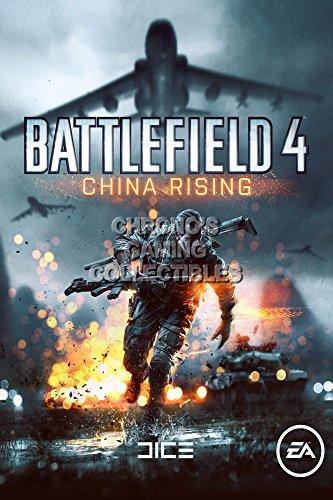 "CGC Poster ""Battlefield 4"", grande, Cina, Rising PS3 PS4, XBOX ONE, BAF015, Carta, 24"" x 36"""