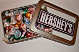 American Hershey kisses gift tin