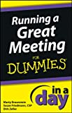 img - for Running a Great Meeting In a Day For Dummies book / textbook / text book
