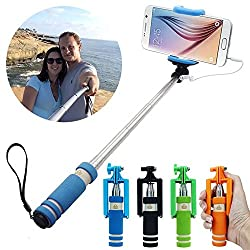 Wired Selfie Stick Complete Gadget for Photography -- All India Free Shipping By Amicikart