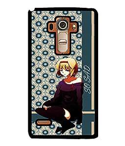 Fuson 2D Printed Girly Designer back case cover for LG G4 STYLUS - D4375