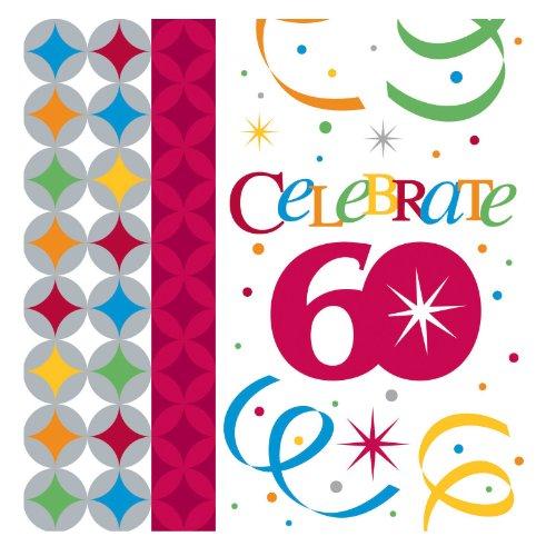 Celebrate In Style 60 Beverage Napkins