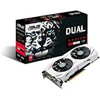 ASUS Dual-fan Radeon RX 480 4GB OC Edition AMD Gaming Graphics Card + AMD DOOM