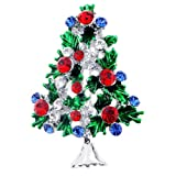 Multicolor Christmas Tree Pin Broach