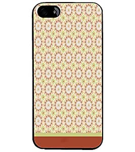 PrintDhaba Pattern D-1617 Back Case Cover for APPLE IPHONE 4 (Multi-Coloured)