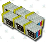 24 Chipped LC970/LC1000 Compatible Ink Cartridges for the Brother DCP-135C Printer